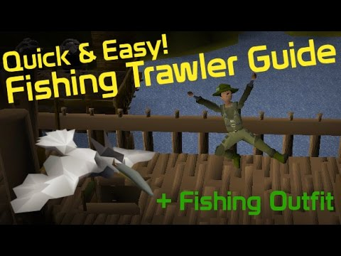 Fishing Trawler Minigame + Anglers Outfit Guide - OldSchool RuneScape