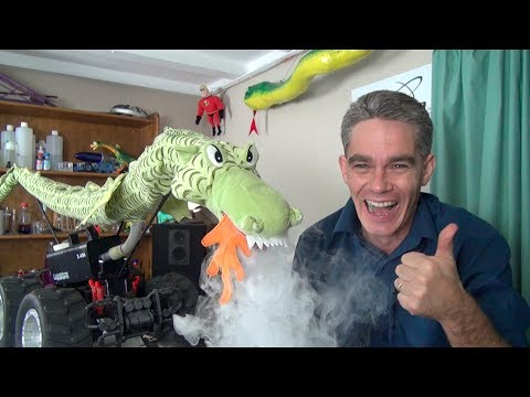 How to make a remote controlled fire breathing dragon - Make Science Fun