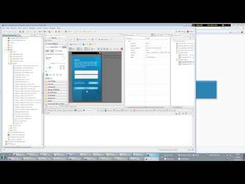 Tutorial: How to design Android UI/GUIs in Eclipse #1