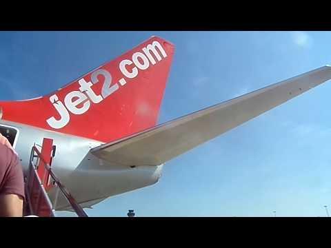 Flight Report Jet2 Boeing 737 London Stansted-Reus full flight 14/6/17