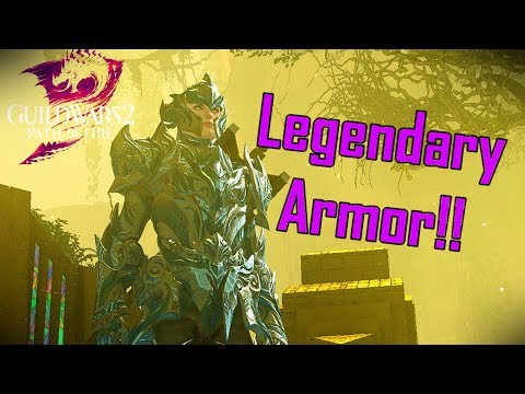 Guild Wars 2 - Crafting my First Set of Legendary Armor!