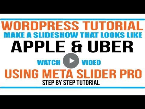 #1 WordPress Slider - Meta Slider the best Responsive Slider - Step by Step Tutorial
