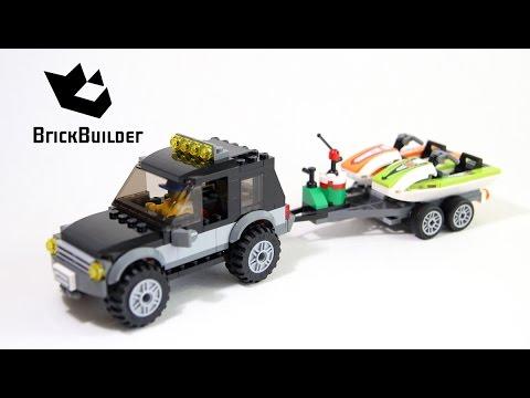 Lego City 60058 SUV with Watercraft - Lego Speed Build
