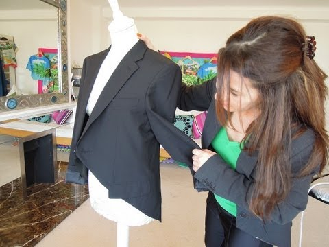 How to make a tailcoat - upcycle