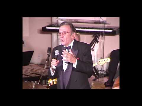 Norm Crosby at Milton Berle's 93rd birthday party
