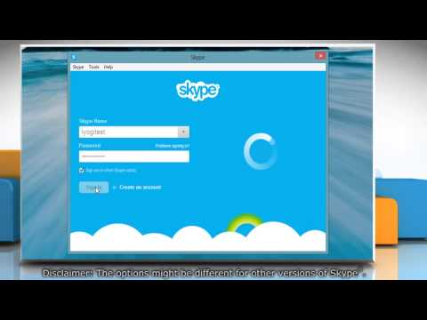 Make the Skype® contact list compact by removing profile pictures