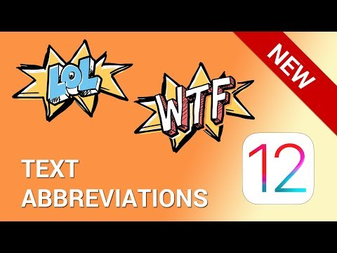 How to create and use text abbreviations on iPhone