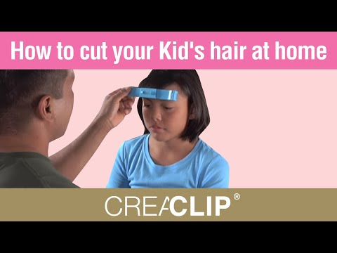 How to cut your Kid's hair at home- Children's haircut's
