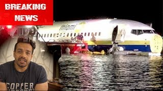 Another Boeing 737 Crashes | Lands into a River  ✈️