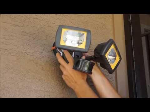 Adding a Motion Sensor to a Floodlight