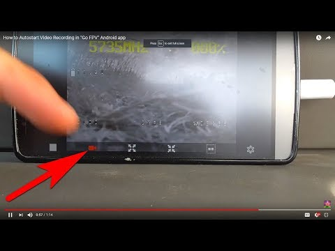 How to Autostart Video Recording in