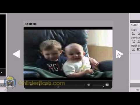 Adobe flash cs4 tutorial: XML Video Player