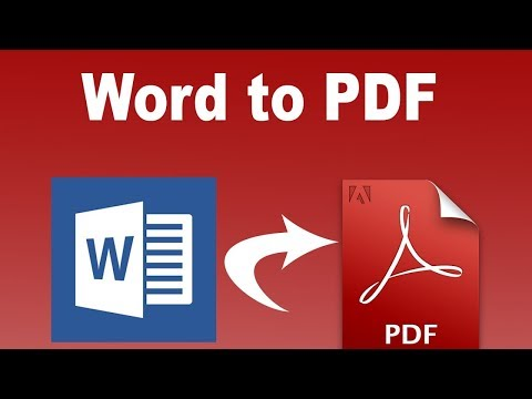 Office 2013 Tutorial: How To Convert Word 2013 Document Into PDF File(No Additional Software needed)