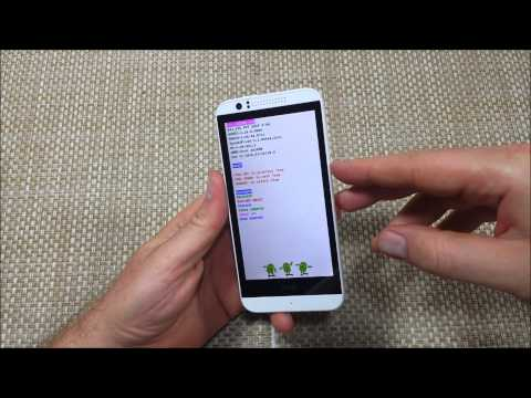 How to Hard Reset HTC Desire 510 / Factory Data Reset thru System Recovery