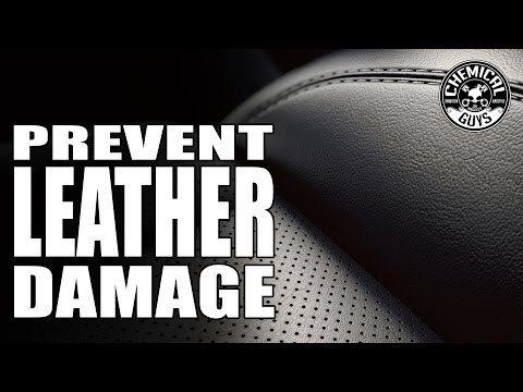 How To Prevent Leather Cracks - Chemical Guys Car Care
