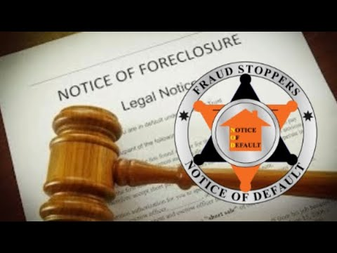 What to do if you get a notice of default or foreclosure complaint
