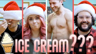 Trying MYSTERY Ice Cream Flavors Blindfolded with Shayne Topp