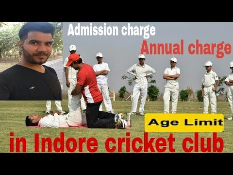 Admission process in Indore cricket club