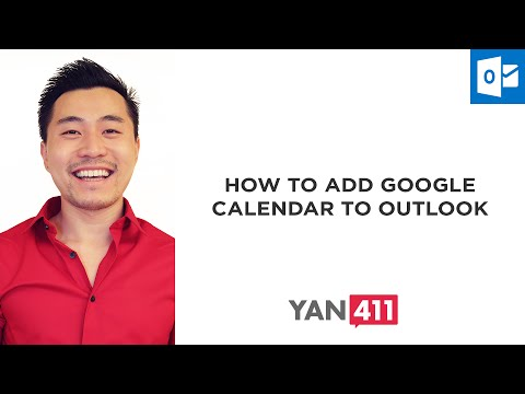 How to Add Google Calendar to Outlook