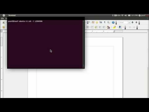 Unix 101 - Lesson 2 (SSH to remote server)