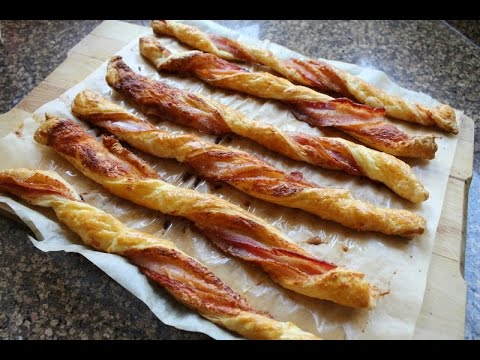 Hellers Honey Cured Bacon Puff Pastry Twists