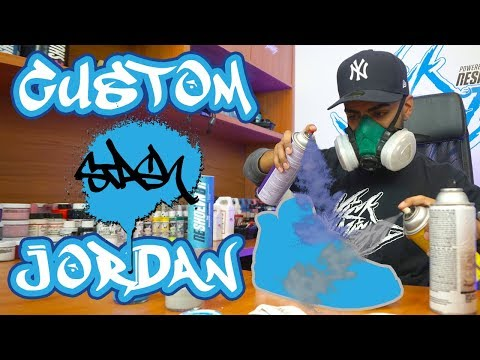 Stash Custom Air Jordan 4's by Vick Almighty