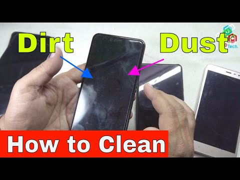 Reusing / Cleaning Tempered Glass or Plastic Screen Protector