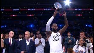 LeBron James wins All Star Game MVP 2018 - Team LeBron vs Team Stephen