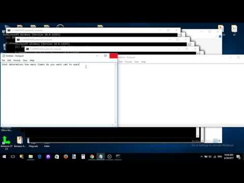How to make an Prank Virus in Notepad