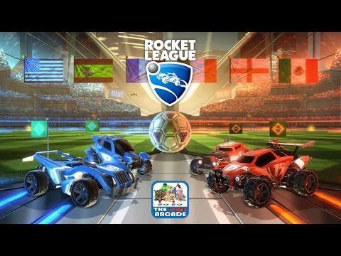 Rocket League - High-Octane, Rocket-Powered Battle Cars Playing Soccer (PS4 Gameplay)