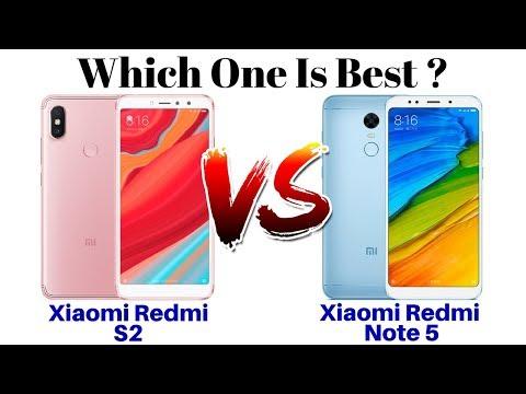 Xiaomi Redmi S2 Vs Xiaomi Redmi Note 5 | Which One Is Best ??