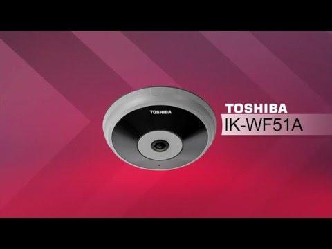 Toshiba IK-WF51A 5MP Full Surround Panoramic IP Surveillance Camera