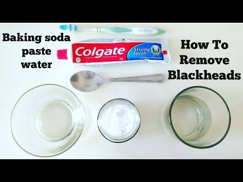How To Remove Blackheads From Nose Using Baking Soda and Colgate || TwentyOneWith AK