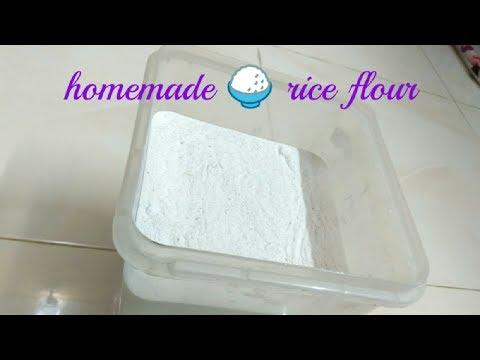 Rice flour for idiyappam and puttu/அரிசி மாவு