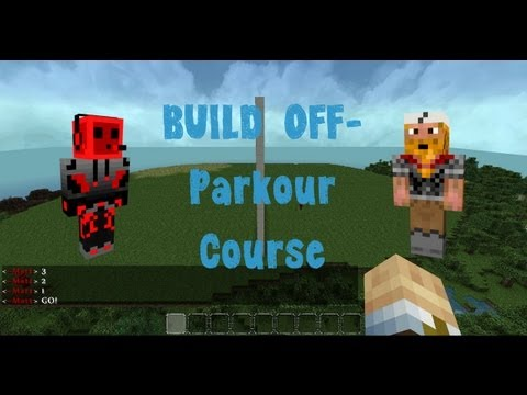 Minecraft - The Build Off! (Parkour Courses)