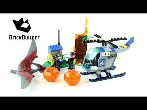 Lego Jurassic World 10756 Pteranadon Escape - Lego Speed build