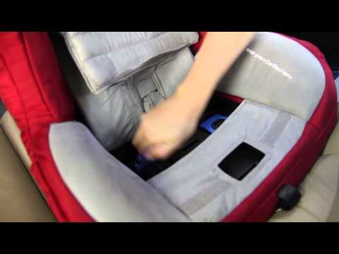 Orbit How Installing The Toddler Car Seat G2 G3 Rear Facing With LATCH