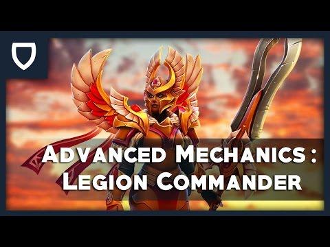 Legion Commander: Advanced Mechanics | How To Play Dota 2 | PVGNA.com