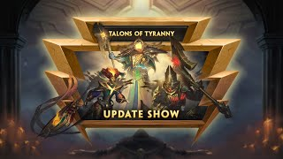 SMITE - Update Show VOD - Talons of Tyranny