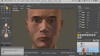 Poser 10 - Poser Pro 2014 Tutorial | Hair Groups And Styling