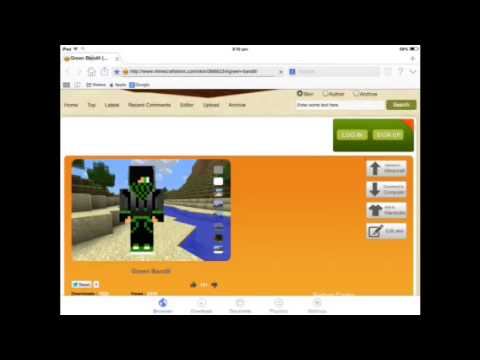 How to change your Minecraft PE skin!!! Jailbreak/No Jailbreak
