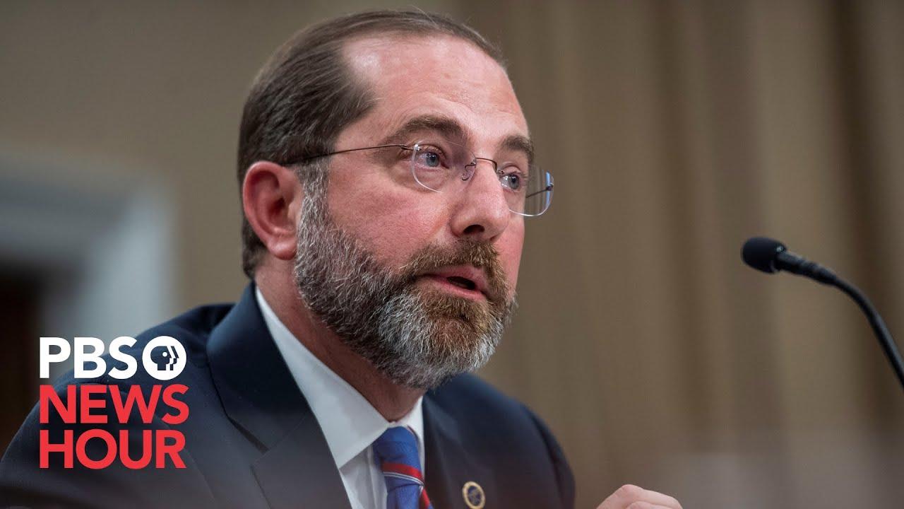 WATCH LIVE: HHS Secretary Azar might address novel coronavirus response in House budget hearing