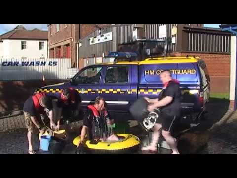 Ardrossan CRT's coastal safety message and Ice Bucket Challenge