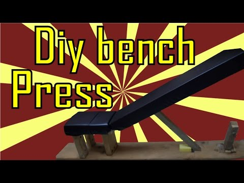 DIY Bench press - adjustable | bodybuilding