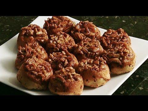 Quick and Easy Cinnamon Pecan Rolls
