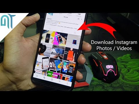 How to Download Instagram Photos/Videos on your Phone!(100% Working)