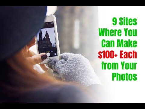 9 Sites Where You Can Make $100+ Each from Your Photos