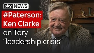 """Paterson: Tory MP Ken Clarke on Conservative """"leadership crisis"""""""