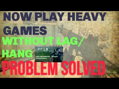 Reduce lag (hang) on android//play heavy games without lag(hang).