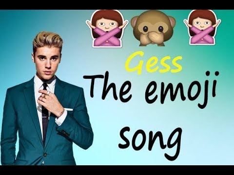 EMOJI CHALLENGE - gess the song (justin bieber)